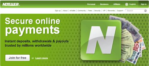 """""""Neteller is een soort online bankrekening - snel en overzichtelijk geld storten en uitbetalen"""""""