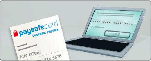 """""""Koop een Paysafecard in de winkel en betaal snel en simpel online met de unieke code"""""""
